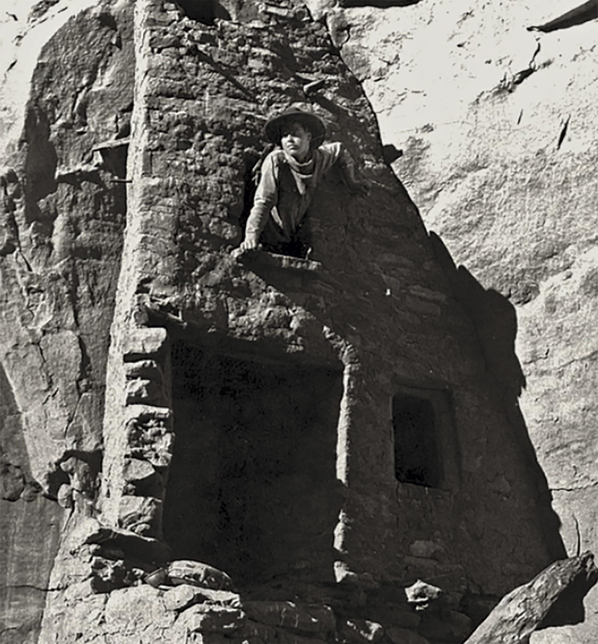 Ruess at Mesa Verde National Park in Colorado, 1932; Photo courtesy Steven Jerman