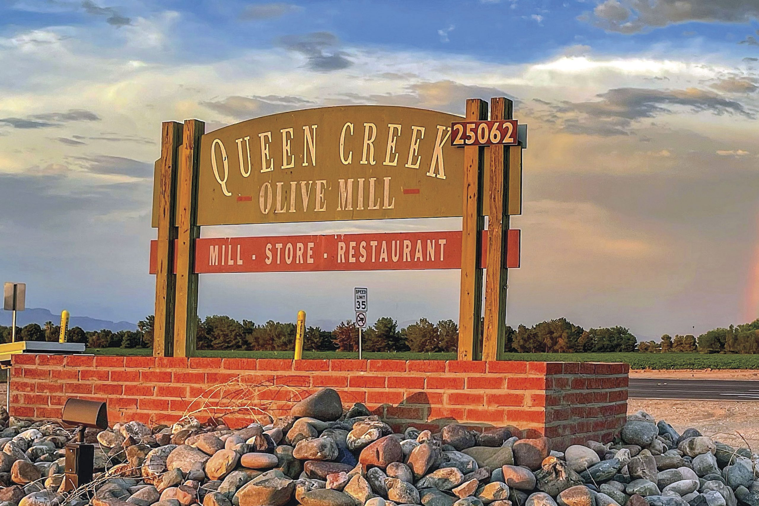 Queen Creek Olive Mill; Photo courtesy Queen Creek Olive Mill