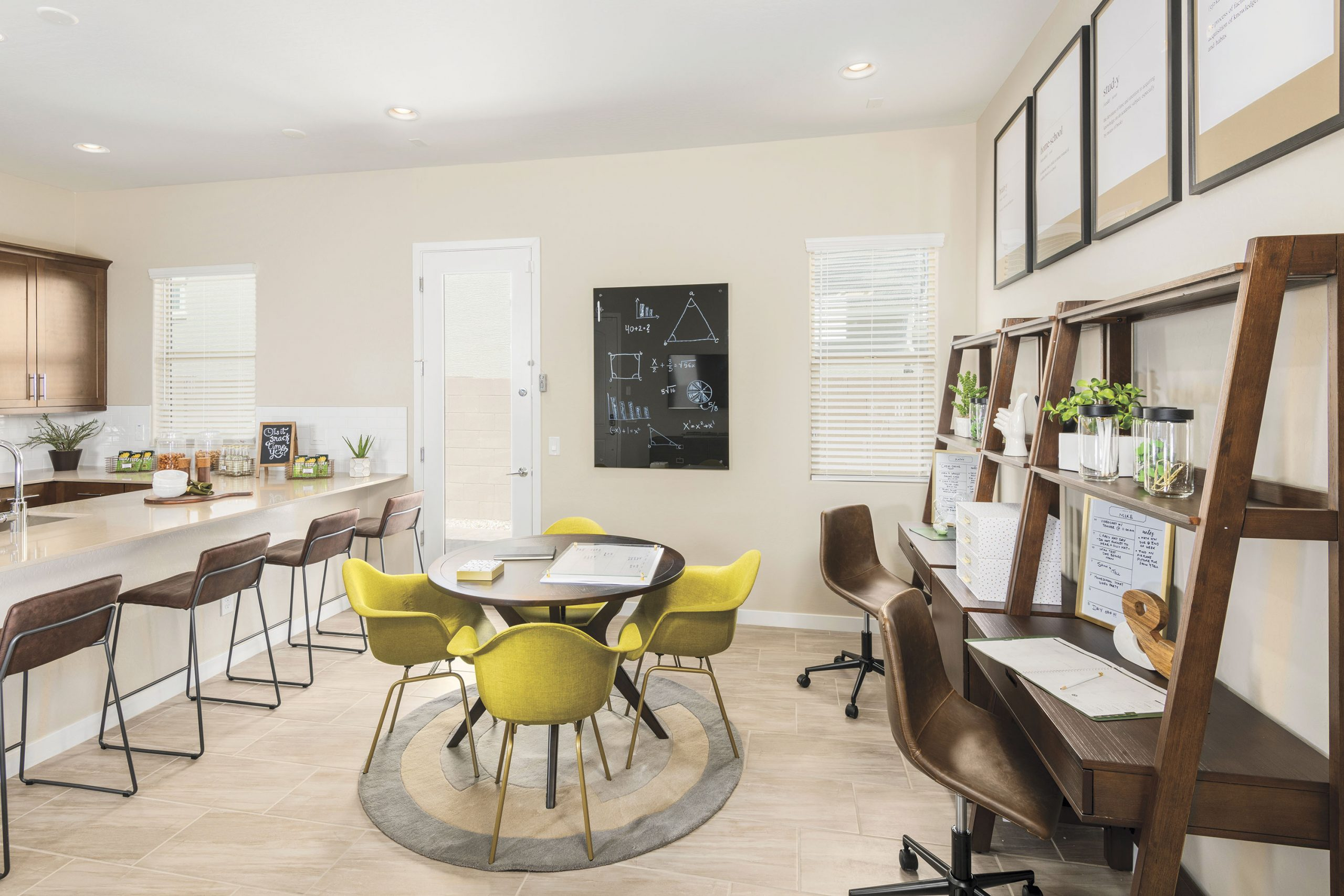 home office in a house at Zanjero Trails; Photo courtesy Lennar