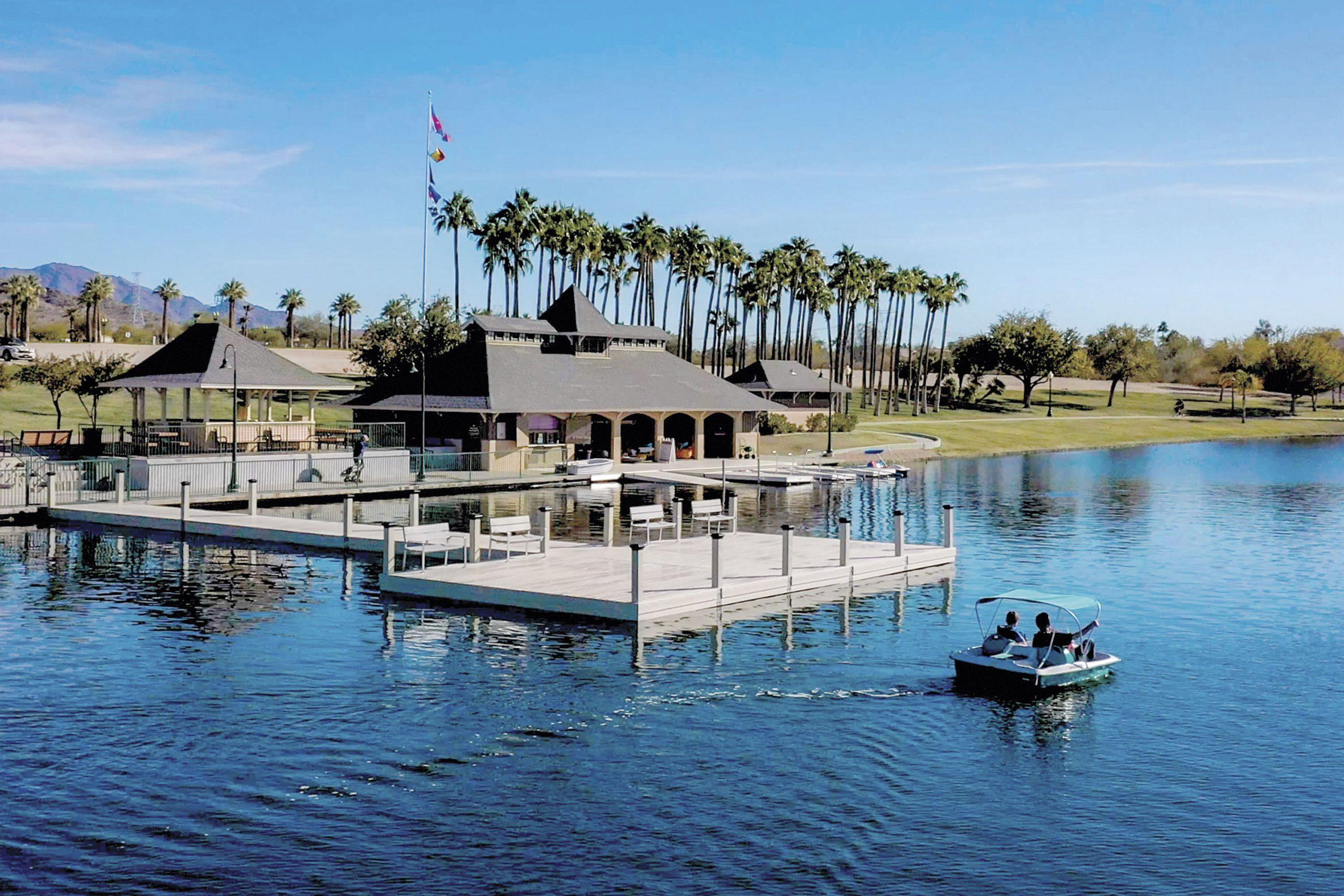 Marina and boating; Photo courtesy Estrella