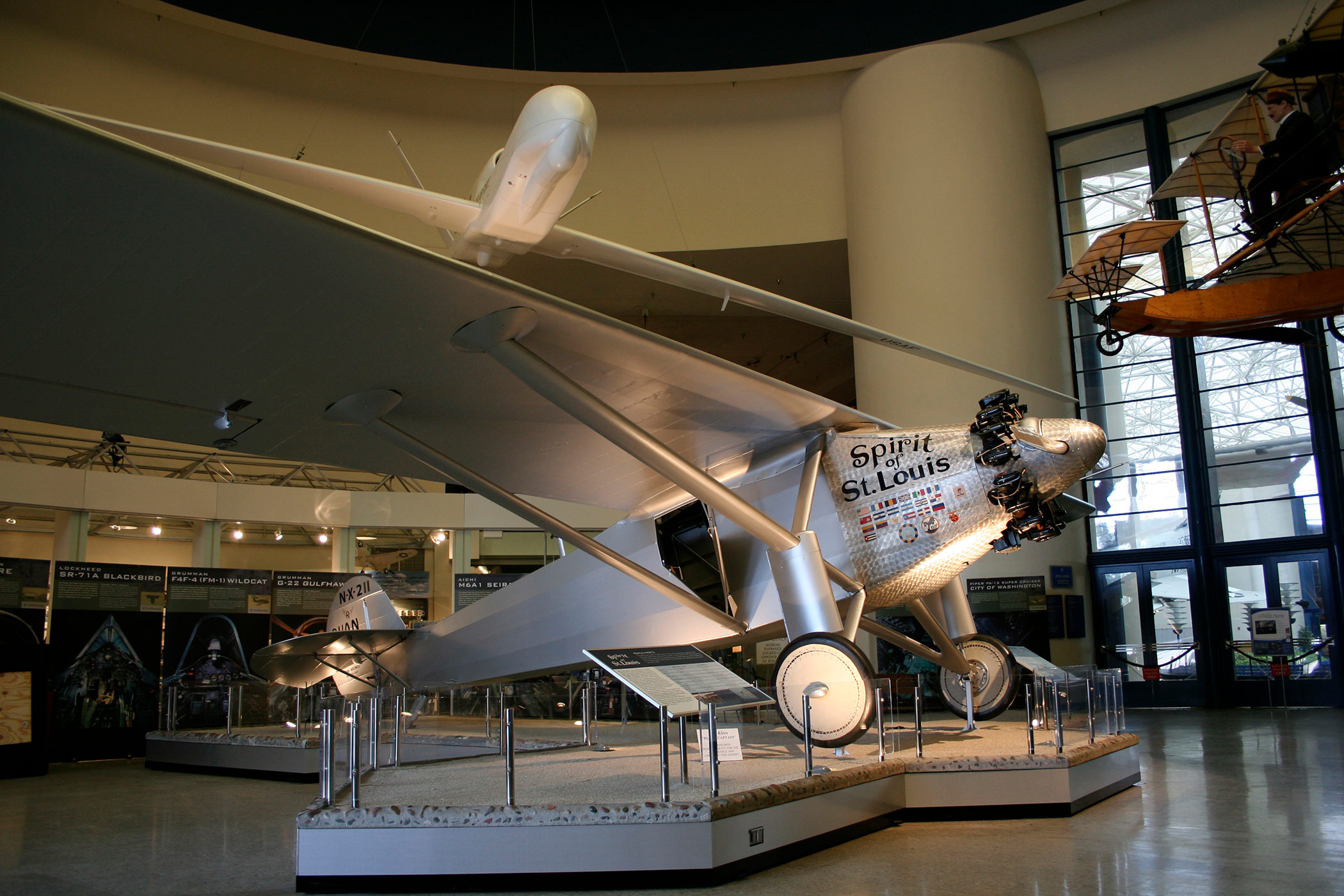 Spirit of Saint Louis at San Diego Air and Space Museum