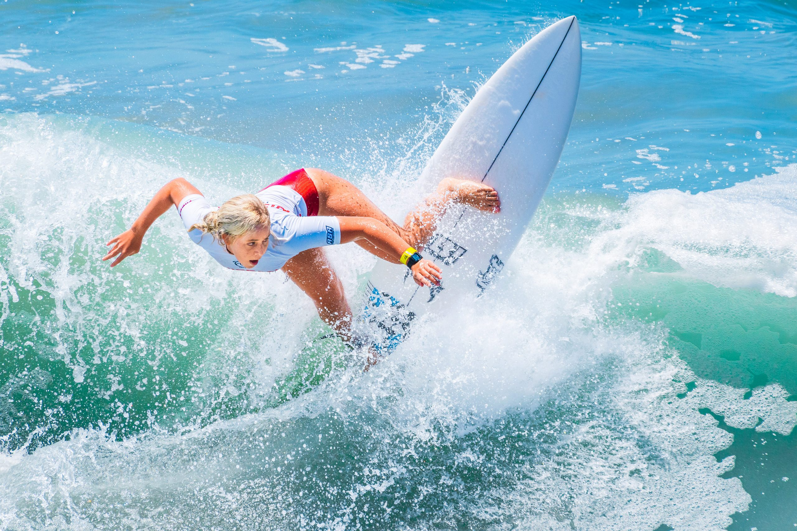 Supergirl Pro surfing competition