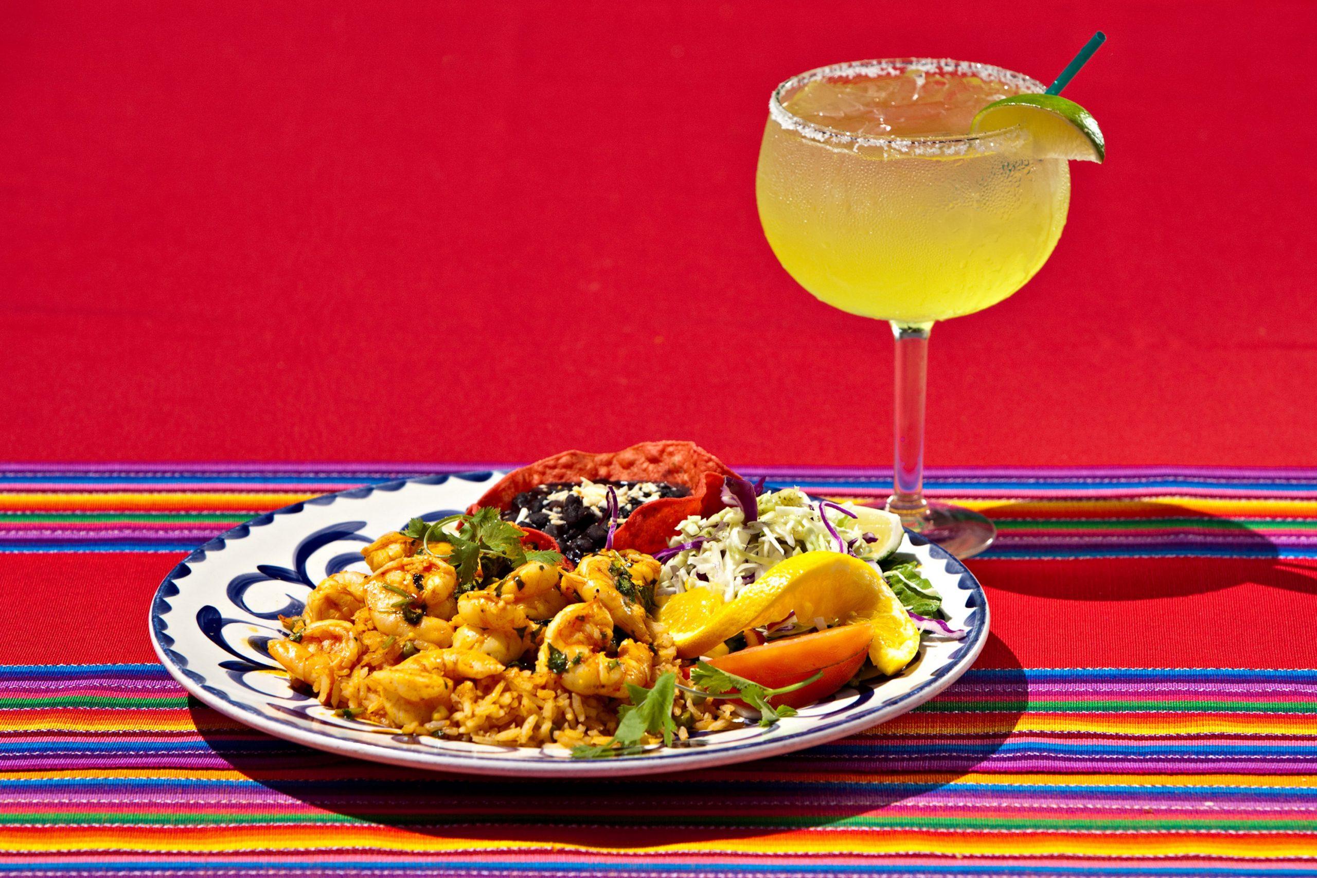 Tequila Lime Shrimp at Casa Guadalajara