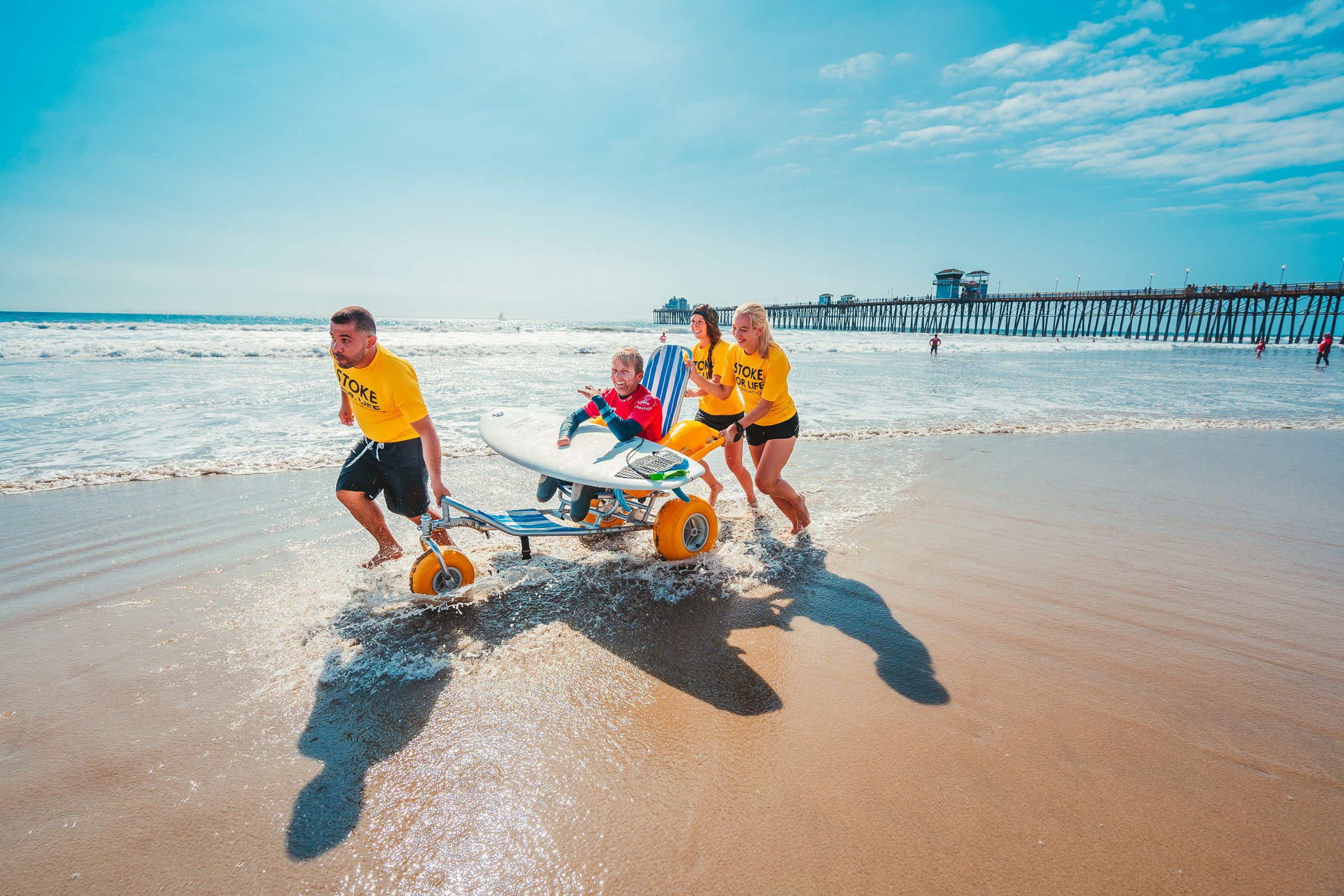 US Open Adaptive Surfing Championships in 2019
