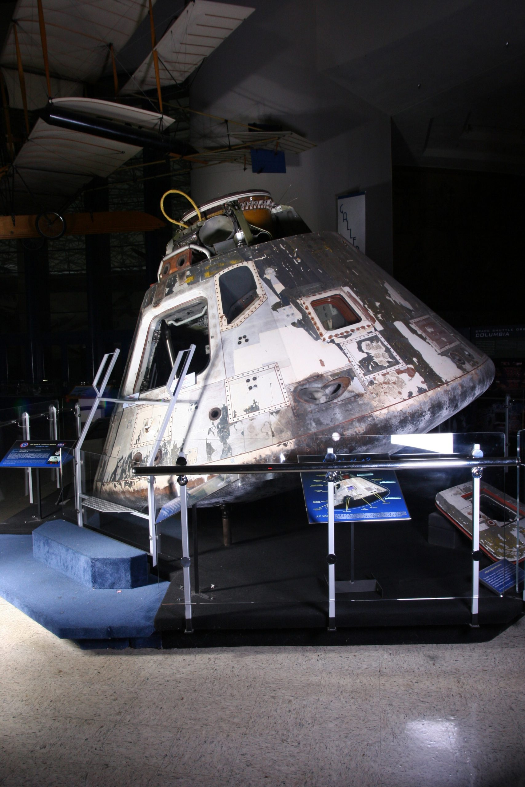 Apollo 9 capsule at San Diego Air and Space Museum