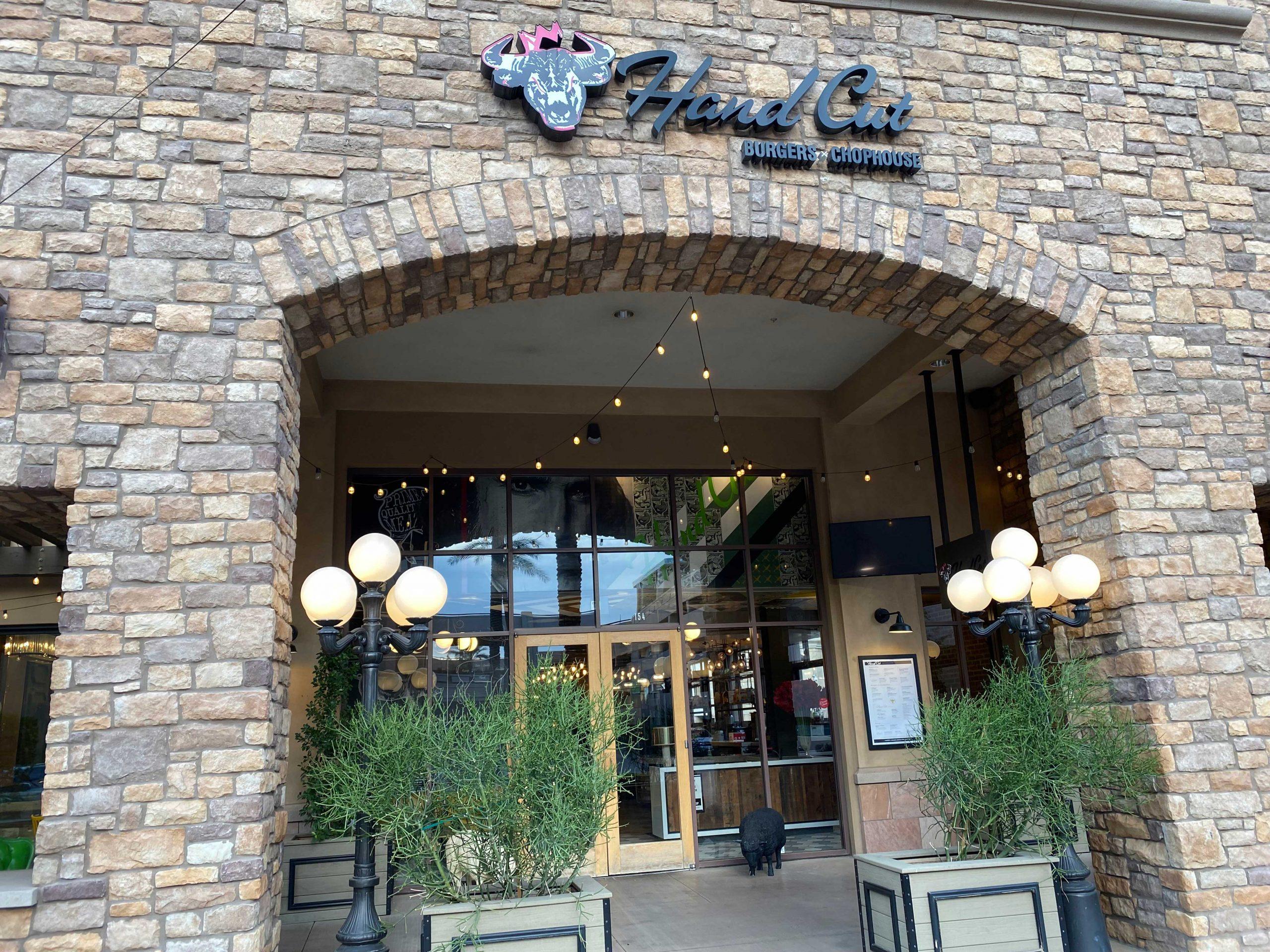 Hand Cut Chophouse in Scottsdale. Photo from Matthew Johnson, PHOENIX