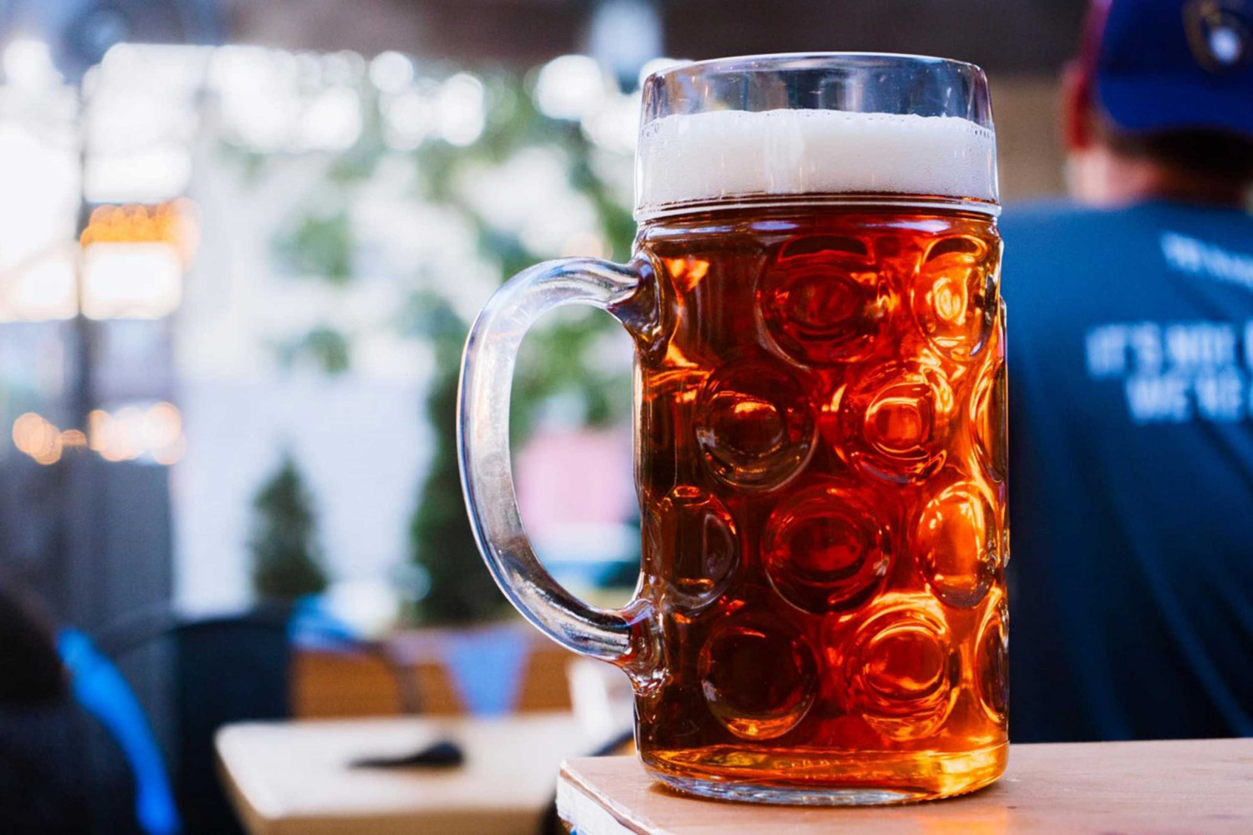 Oktoberfest beer courtesy Pedal Haus Brewery